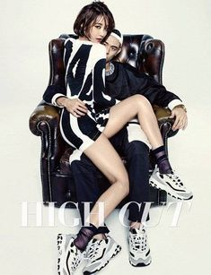 Beenzino and Go Jun Hee are a sexy couple in 'High Cut' magazine | allkpop.com