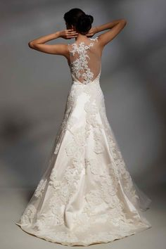 time to renew the vows? if I get to wear this dress then yes. immediately.