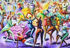 escola de samba - carybê