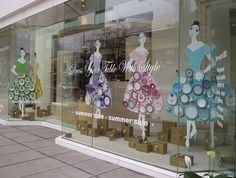 Summer windows at William Ashley on Bloor St. in Toronto #retaildetails