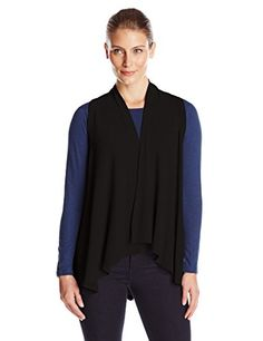 ed27567ab927 Karen Kane Womens Sweater Vest Black Medium    Click image to review more  details.(This is an Amazon affiliate link)
