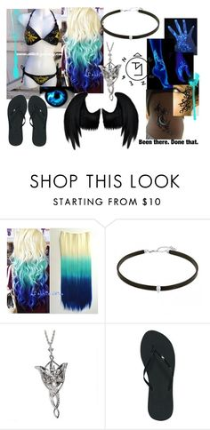 """outfit #5 (eyeless)"" by eyeless-angel-of-death ❤ liked on Polyvore featuring Reef and Dickies"
