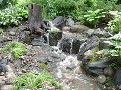 Manmade fountain / creek