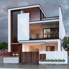 Best Modern House Design, Modern Exterior House Designs, Modern House Facades, Latest House Designs, Dream House Exterior, Cool House Designs, Exterior Design, House Outside Design, House Front Design