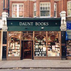 Daunt Books in London / photo by Jennifer Elizabeth
