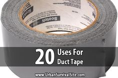20 Uses for Duct Tape
