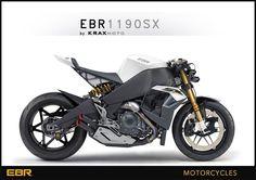krax-moto | EBR 1190 SX dévoilée. La nouveau roadster d'Erik Buell