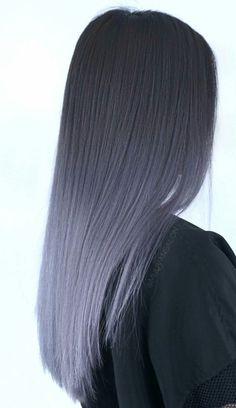 Graues Ombre-Haar - inspirierte Schönheit - Graues Ombre-Haar Informationen zu Grey Ombre Hair – Inspired Beauty Pin Sie können mein Profil g - Brown Ombre Hair, Ombre Hair Color, Cool Hair Color, Gray Ombre, Blue Grey Hair, Lavender Grey Hair, Dyed Hair Ombre, Dye Hair, Pastel Hair Colour