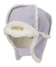 Take a look at this Lavender Trapper Hat by Luca Charles on #zulily today!