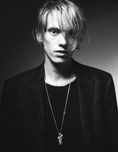 Jamie Campbell Bower for AnOther Man image jamie campbell bower 0001