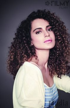 Kangana Ranaut has changed the rules for what is considered beautiful. Curls are in y'all!