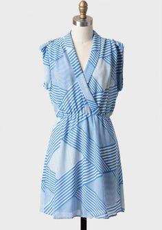 Redondo Beach Striped Dress - summer!