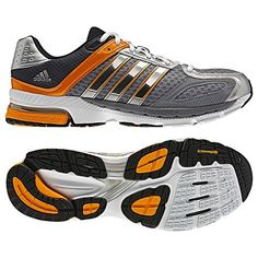 newest eb746 80c32 Adidas Mens Adidas Supernova Sequence 5 Running Shoe Tech GreyTech  OnixBright Gold 13  Read