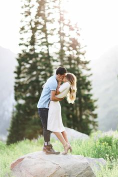 Engagement session photography.