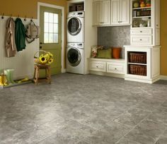Learn about vinyl tile flooring, vinyl sheet flooring, vinyl kitchen flooring and vinyl wood flooring. Vinyl Flooring Kitchen, Luxury Vinyl Flooring, Luxury Vinyl Tile, Vinyl Plank Flooring, Basement Flooring, Luxury Vinyl Plank, Stone Flooring, Kitchen Vinyl, Armstrong Flooring