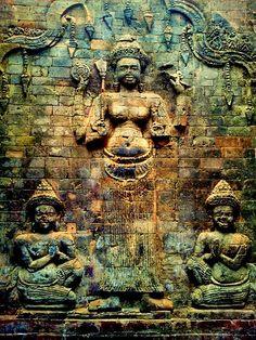 Lakshmi the wife of Vishnou