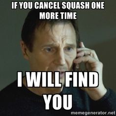 don't cancel squash