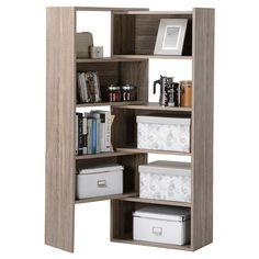 homestar 9shelf flexible sliding or corner shelving unit grey reclaimed wood best corner shelving unit and corner shelving ideas