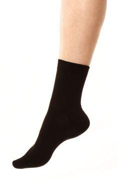 Sidenstrumpor, svart, unisex i gruppen Sidenkläder / Strumpor hos Sleep in Silk (155-svart-Lr)