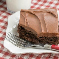 Cocoa Fudge Cake   Easy and outrageously delicious!