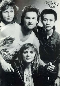 CAST OF BIG TROUBLE IN LITTLE CHINA.