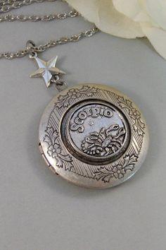 Antique HoroscopeLocketShamrockAntique by ValleyGirlDesigns, $32.00, $32