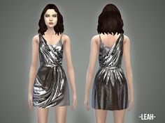 The Sims Resource: Leah � dress by April � Sims 4 Downloads