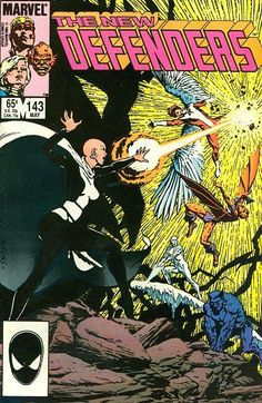 New Defenders # 143 first appearance of Andromeda.
