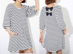 Tunic Tops – L-XL dress shirt- skirt RGC25 – a unique product by Lie-ly-et-Za-mong on DaWanda