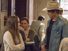 Loretta, the only girl to really get to Raylan's heart in Justified