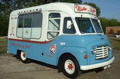 Mister Softee ice cream van I used to love it when he came around when I stayed at my Nan's she used to buy me an oyster shell, oh so yummy ;-)
