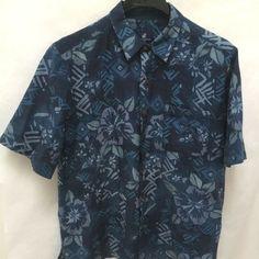 Caribbean Joe L Hawaiian Shirt Mens Blue Hibiscus Floral Tropical Washable Silk Mens Plus Size Fashion, Best Mens Fashion, Blue Hibiscus, Caribbean Joe, Online Price, Hawaiian, Casual Shirts, Tropical, Men Casual
