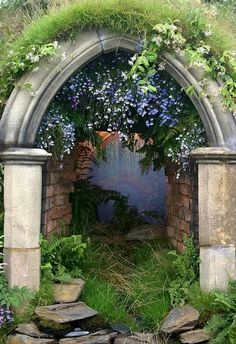 Mystical Arch, Provence, France.