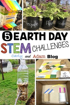 5 Earth Day STEM Challenges
