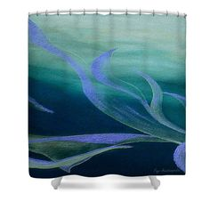 Teal Flow Shower Curtain by Faye Anastasopoulou. This shower curtain is made from polyester fabric and includes 12 holes at the top of the curtain for simple hanging. The total dimensions of the shower curtain are wide x tall. Beautiful Modern Homes, Fancy Houses, Pattern Pictures, Curtains With Rings, Curtains For Sale, My Themes, Basic Colors, Home Decor Items, Shower Curtains