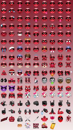 Emojis_Deadpool                                                                                                                                                      Plus