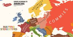 Mapping Stereotypes- The Ultimate Bigot's Calendar of the Word