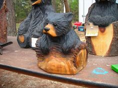 "Toddler Bear over a Log 18""                                                                                                                                                                                 More"