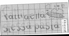 Risultati immagini per strofinacci punto croce schemi