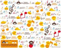 Cute Kamono Hashikamo Duck Wallpaper