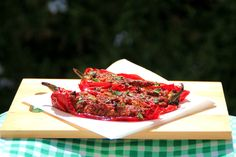 Stuffed Florina Red Peppers