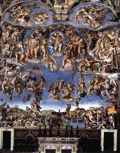 Michelangelo Buonarroti The Last Judgement 1537-41