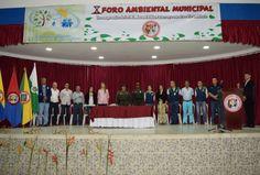 Institución Educativa Manuel Elkin Patarroyo lideró con éxito el Décimo Foro del Agua