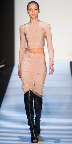 Runway Looks We Love: Herve Leger by Max Azria - Herve Leger by Max Azria from #InStyle