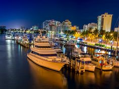 Ft Lauderdale Bridge Marina by Daryl Johnson - Photo 85915817 / 500px