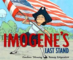 Third grade loved this book.  Imogene is an ACTIVIST trying to save the local historical society.