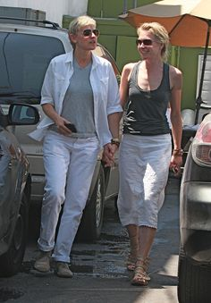Vegan Couple: Ellen DeGeneres & Portia de Rossi