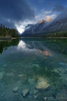 A clear mountain lake. Dobbiacco lake by Marco Milanesi on 500px