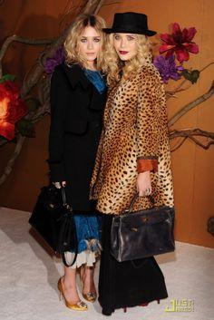 Mary-Kate and Ashley Olsen Grab Twin Hermes Handbags