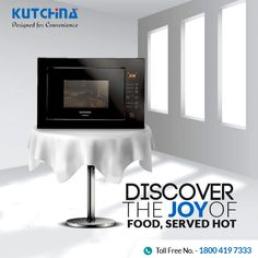 Make your cooking experience better with #Kutchina #MicrowaveOvens. ✓ Fully touch/ manual interface options ✓Child lock function ✓25 litres of capacity ✓ Up to 95 minutes of cooking timer Click to know more: http://bit.ly/2y0e5Yn #DesignedForConvenience #ModernKitchen #HappyKitchen #HappyHome #KitchenLove #GetKutchified #HeartOfAHome